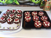 Капкейкы и пирожные на заказ Кульсары