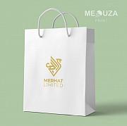Нанесение логотипа. Печать логотипа на пакеты ПВД крафт пакеты Алматы