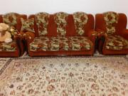 Продается Б/У Мебель. Мягкая Мебель, Диван+2 кресло в Отличном Состоянии Кульсары