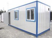Мобильный Блок Жилой. Изготовлен из сэндвич панелей, Утепленный пол, стены , потолок , внутренная эл Алматы