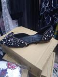 Женская Обувь. Женская Балетка с Жемчугом и Камнями Алматы