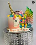 Торт с изображением Пони (единорог) доставка из г.Кульсары