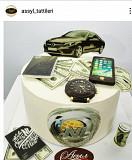 торт ерекше кг 4500 + декор Кульсары